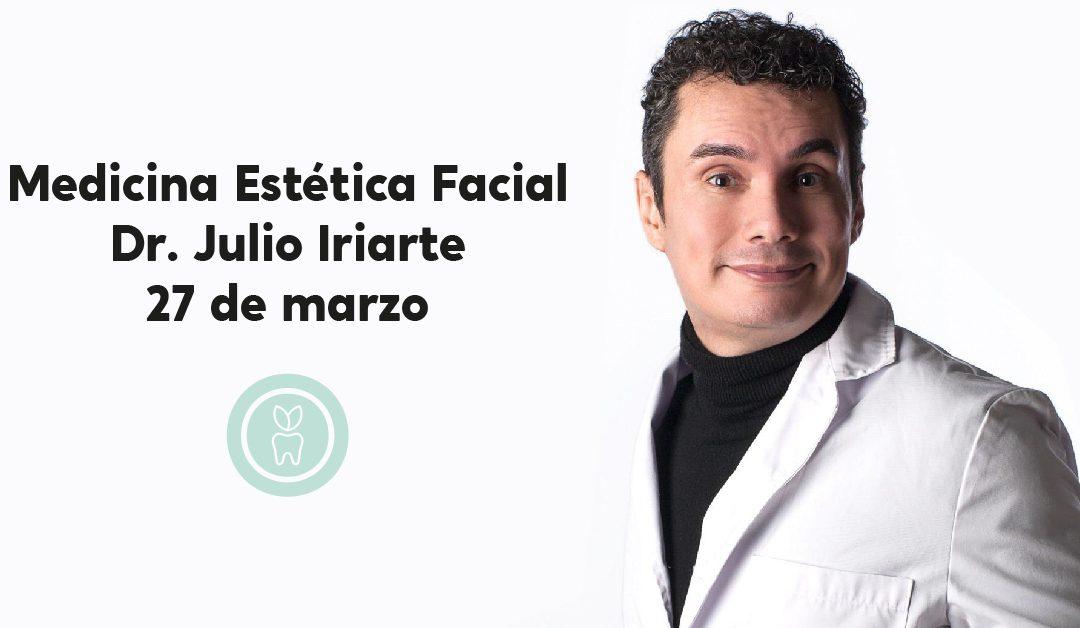 Jornada de Medicina Estética Facial con el Dr. Julio Iriarte